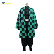 Anime Demon Slayer Kamado Tanjirou Kimono Cosplay Costume