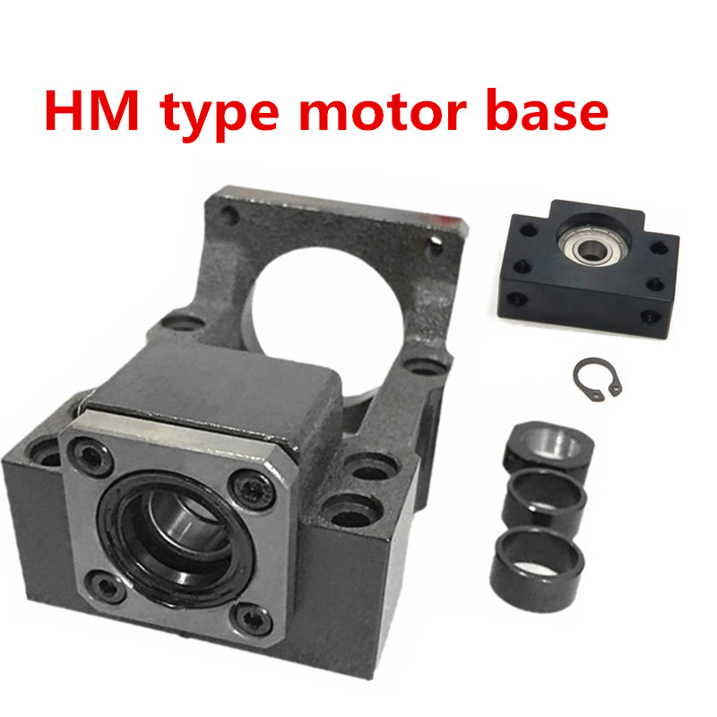 ball screw SFU1605 Integral seat HM12-57 name23 Motor Bracket with <font><b>BK12</b></font>+BF12 for cnc image