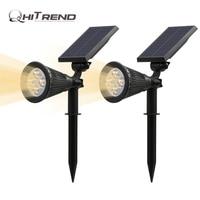 Outdoor Waterproof Solar Power 4 LED Garden Landscape Path Pathway Lights Lawn Lamp Solar Panel Light