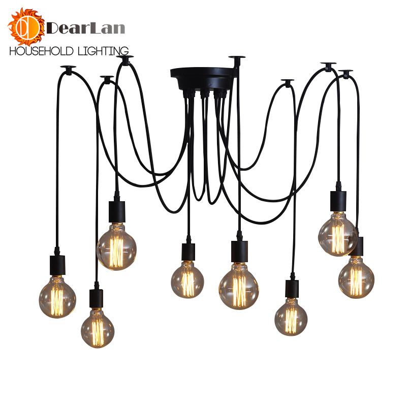Good Looking Fashional Eletrical Wire Pendant Lights With 6/8/10/12 ...