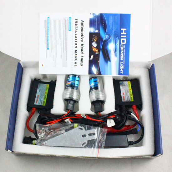 ФОТО 35W HID Conversion Kit H1 H3 H7 H8 H9 H10 H11 9005 9006 4300K-1200k Xenon Light & Slim Ballasts