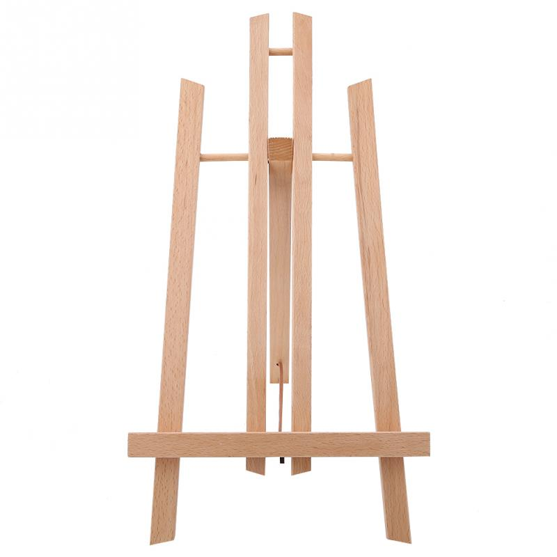 US $7 32 45% OFF|Wooden Foldable Studio H Frame Desktop Art Easel Stand  Display Holder Drawing for School Artist Supplies-in Drawing Storage from  Home