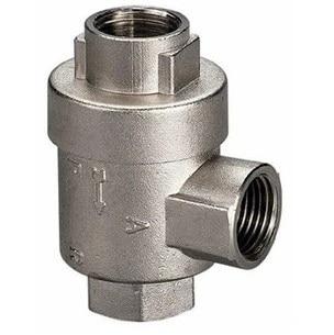 pneumatic one way brass gas air quick exhaust valve bqe 01 02 03 04 thread 1 8 1 4 3 8 1 2 bsp air pipe valve