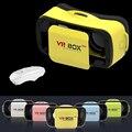 "НОВЫЙ VR 3.0 PRO Google Картон Headmount Smartphone4.5 ""-5.5"" 3D VR Очки + Smart Wireless Bluetooth дистанционного Геймпад"