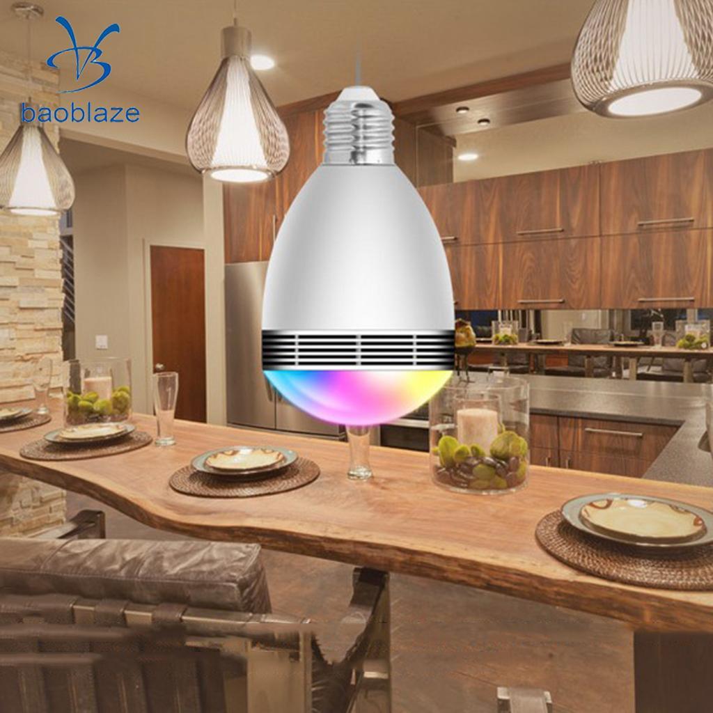 Bluetooth Intellectual LED Light Bulb RGB E27 Base Color Changing Light Bulb