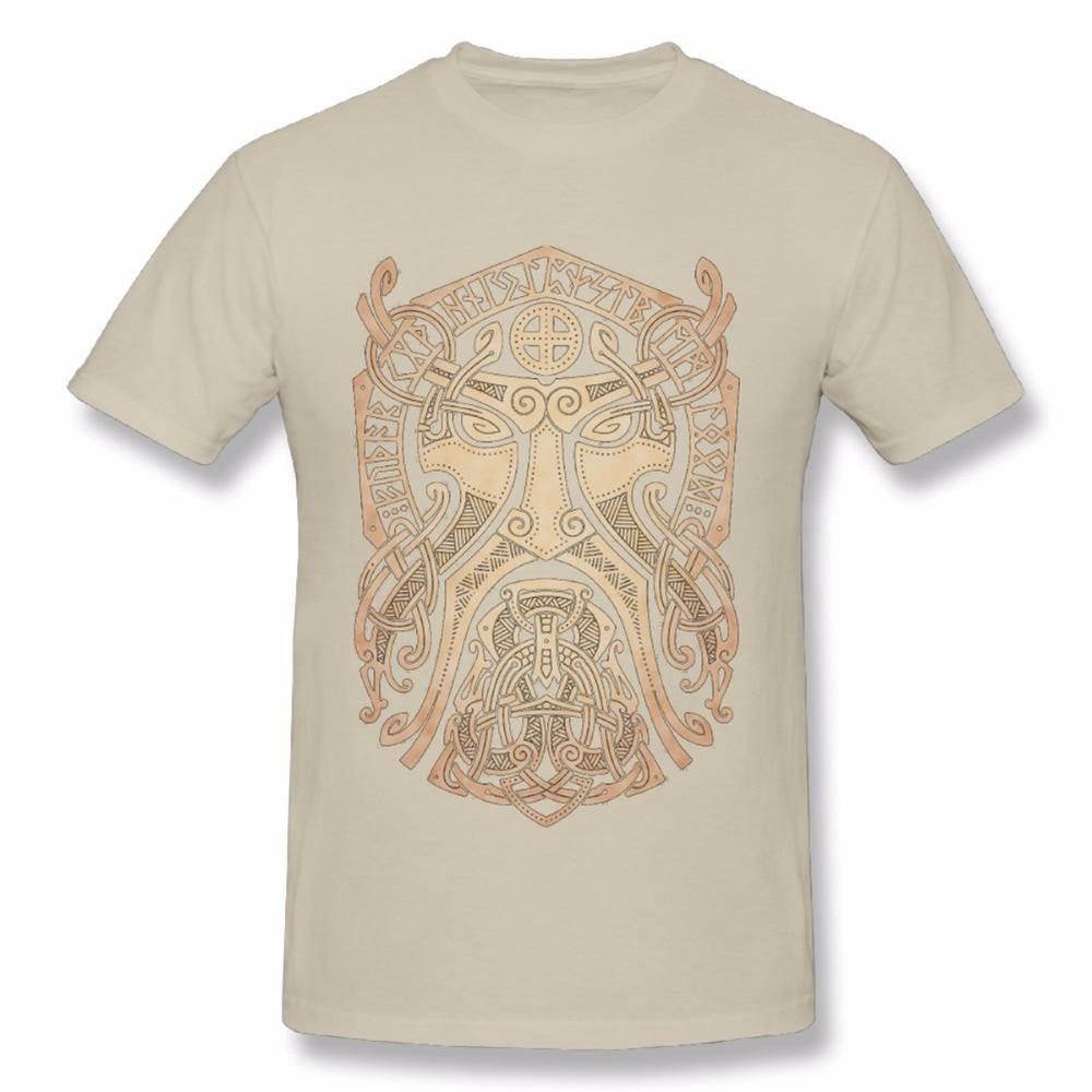 2018 Summer Fashion Thor Vikings T Shirt Round Neck Classic Movie Man T-Shirt size S-3XL
