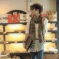 1 ШТ. Горячая Женщина Моды Длинный Шарф Шаль Шарфы Leopard Шифон Украл Рождество Подарок