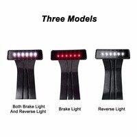 LED 3rd Third Brake Light For Jeep Wrangler JK Brake Tail Light Lamp Bulb Assembly Conversion