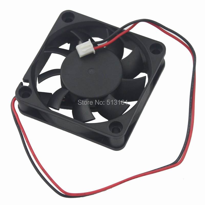 Купить с кэшбэком 5Pcs Gdstime 6015 Ball Bearing Fan 60mm 6CM 12V 60x60x15mm Brushless DC Cooling CPU Cooler
