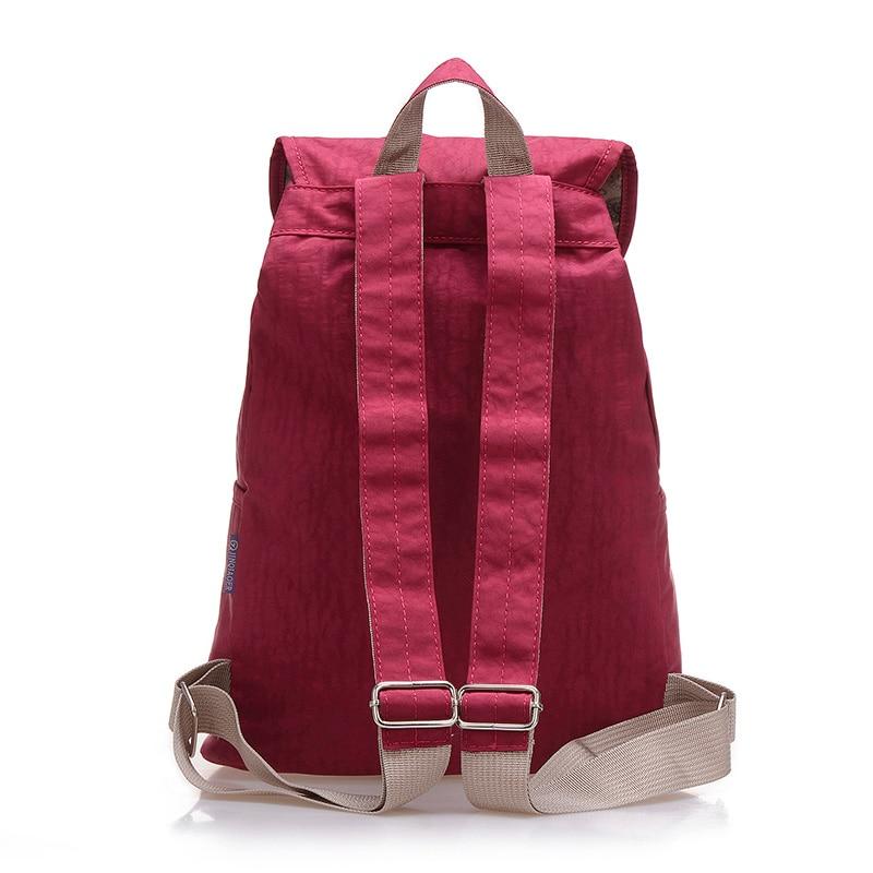 2c14494e3d8a Preppy Style Women Backpack Waterproof Nylon Backpack 10 Colors Lady Women s  Backpacks Female Casual Travel Bag Mochila Feminina - TakoFashion - Women s  ...