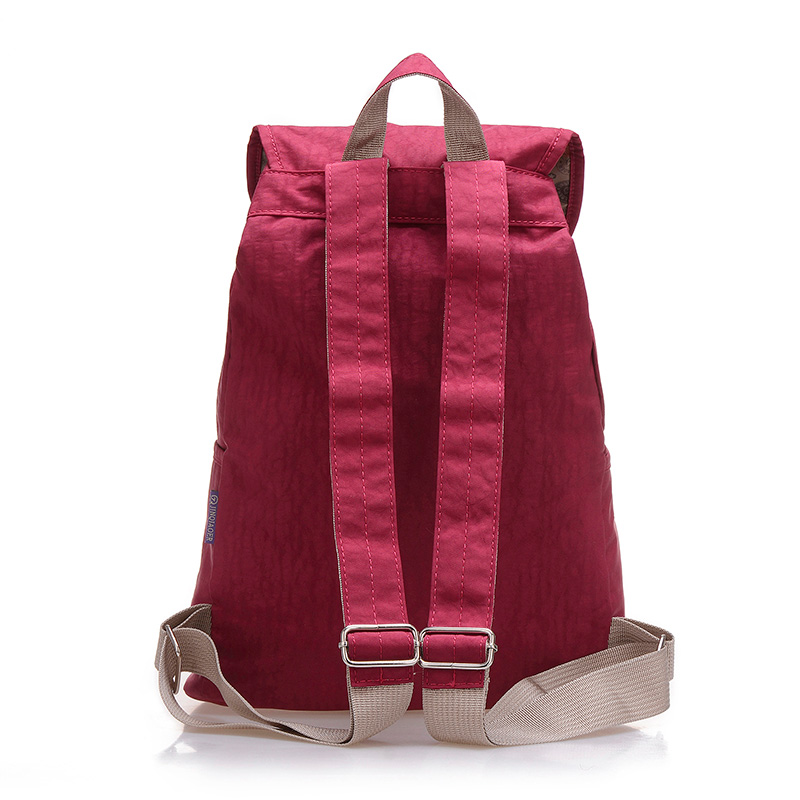 Preppy Style Women Backpack Waterproof Nylon Backpack 10 Colors Lady Women's Backpacks Female Casual Travel Bag Mochila Feminina #5