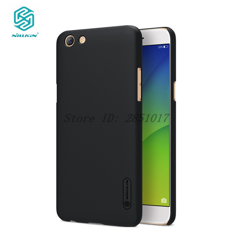 OPPO F3 Case Cover Nillkin Brand OPPO F3 Hard PC Case Frosted Shield Series With Screen Protector