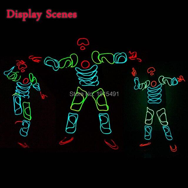 EL Anzug Funky Beliebte EL Draht Glowing Monkey King Kleidung Neon ...