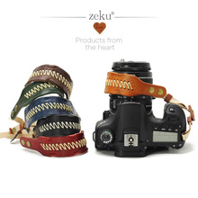 Retro Hand-made Leather Camera Hand Wrist Strap Stylish Soft Comfort for Canon Nikon Sony Pentax Olympus Panasonic DSLR / SLR mcoplus 130 led video light photography lamp for canon nikon sony pentax panasonic samsung olympus dv camera camcorder vs cn 126