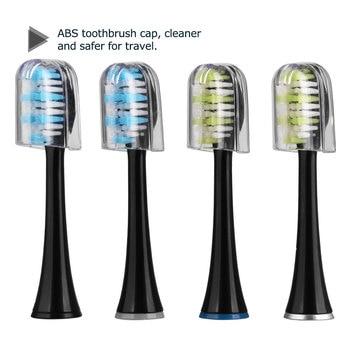 Сменные насадки для электрической зубной щетки Mornwell D01B, 4 шт. 5