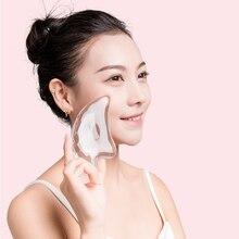 1 Pcs Transparent Scraping Board Face Facial Massage Tools Beauty Healt
