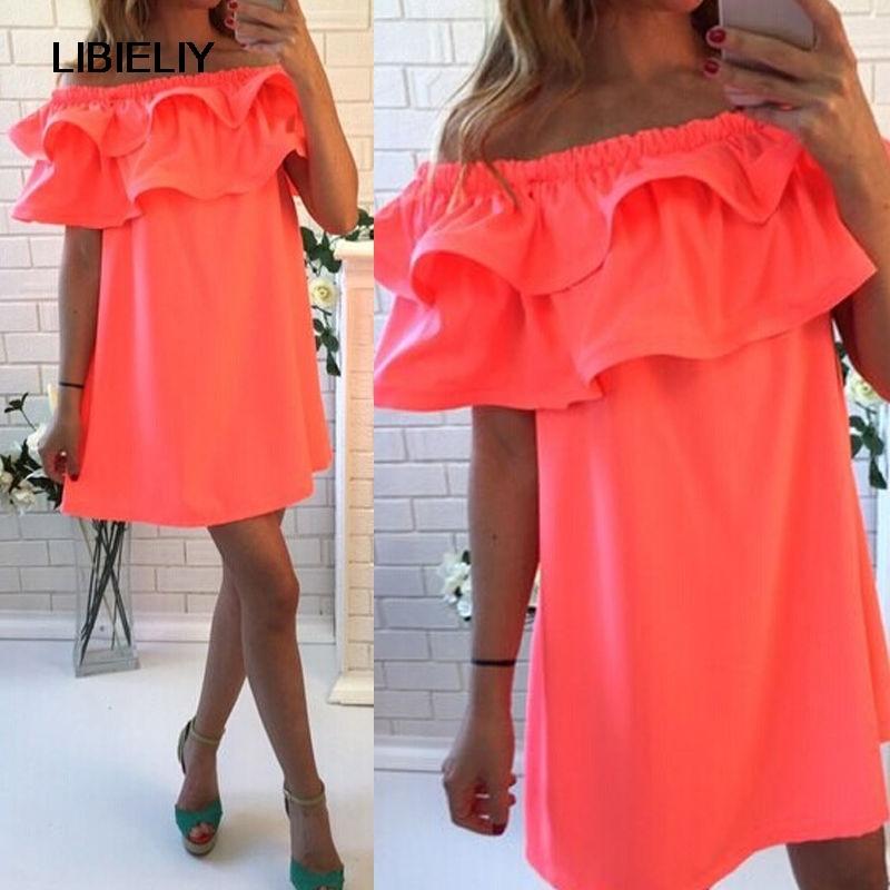 Nice Sexy Women Summer Sleeveless Party Cocktail Short Mini Dress Beach Dress
