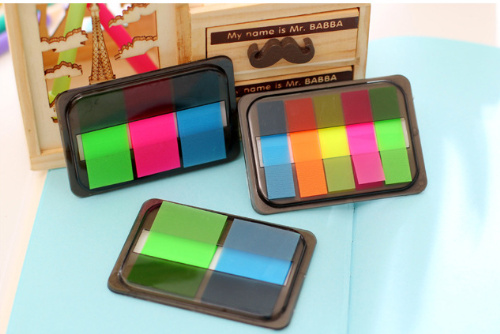 Candy color Fluorescent Sticky notes Memo Pad Paper Sticker Post It Notepad Escolar Papelaria school Office Gift Stationery
