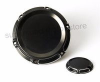 Motorcycle CNC 6 Hole Beveled Derby Cover Timing Timer Covers For Harley 2004 2016 XL Sportster