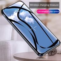 Real 10000mAh Digital Display Charging Treasure For iPhone / Samsung / Huawei / Xiaomi LCD Mobile Power Bank External Battery