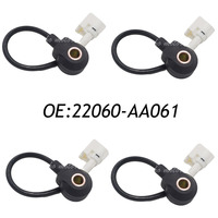 New 4pcs Front Knock Sensor 22060 AA061 For Subaru Legacy 1997 1998 1999 Forester 1998 Impreza