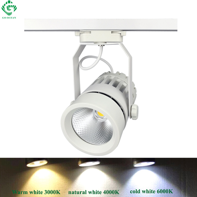 Go ocean track light aluminum wall clothes spot rail led track go ocean track light aluminum wall clothes spot rail led track light modern rail lamp art mozeypictures Images