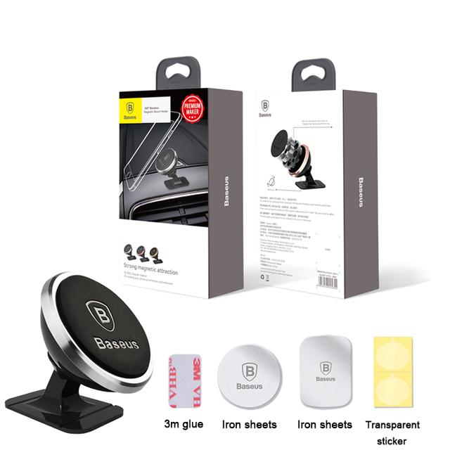 Baseus Universal Car Phone Holder 360 Degree Magnetic Mobile Phone Holder