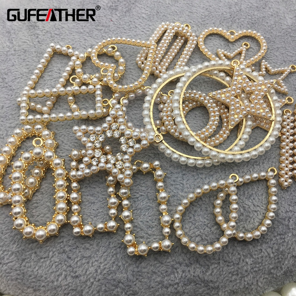 GUFEATHER M270,jewelry Accessories,jewelry Findings,diy Pearl Accessory,charms,hand Made,diy Earrings,jewelry Making,10pcs/lot