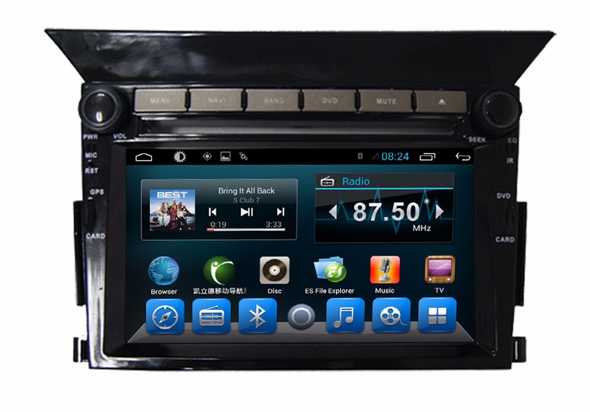 Honda Pilot 2 din car dvd player android system
