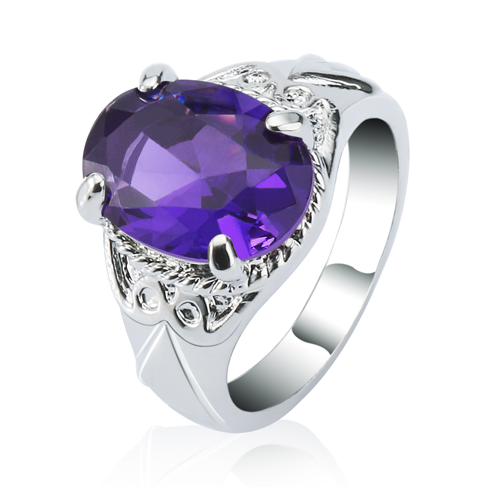 Aliexpress.com : Buy New coming Purple CZ Purple Zircon ...