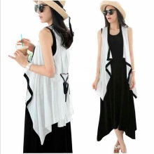 Maternity Clothes 2pc Cardigan+Dresses Top Set Pregnant Women`s Plus Size Dress sleeveless pregnancy clothes pregnant women BB66