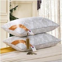 Bedding pillow 100% Microfiber Neck Health Care 48*74cm Throw Pillow Ployester Fill pillow Soft Massage Neck Pillow