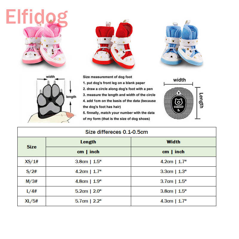 e2079276eb0e8 ... Shining Love Shoes For Dogs Of Small Breeds Summer Breathable Fashion  Puppies Non-slip Pet ...