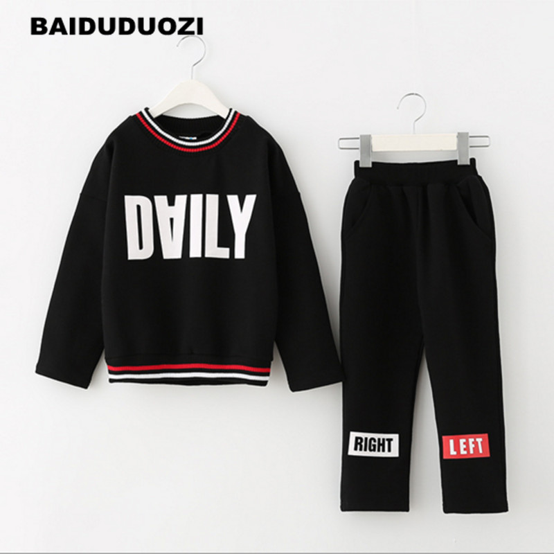 Tracksuit Girls Sports Suits Fashion Toddler Girl Clothing Sets 2017 Spring Autumn Outfit Clothes