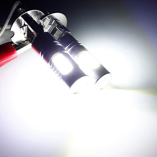 2x Hi-Power Constant Current LED COB H3 Car LED Light Fog Lamp Bulb Headlight 12V hks silent hi power на chaser