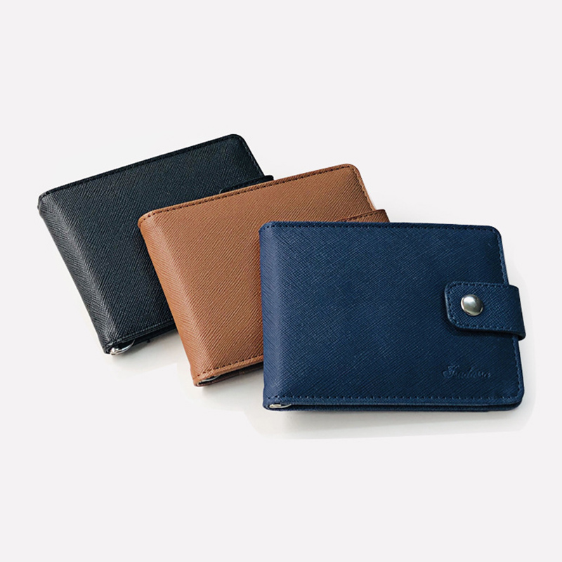 Wallet Purse Card-Bag-Holder Short Foldable ID OH66 Multi-Layer