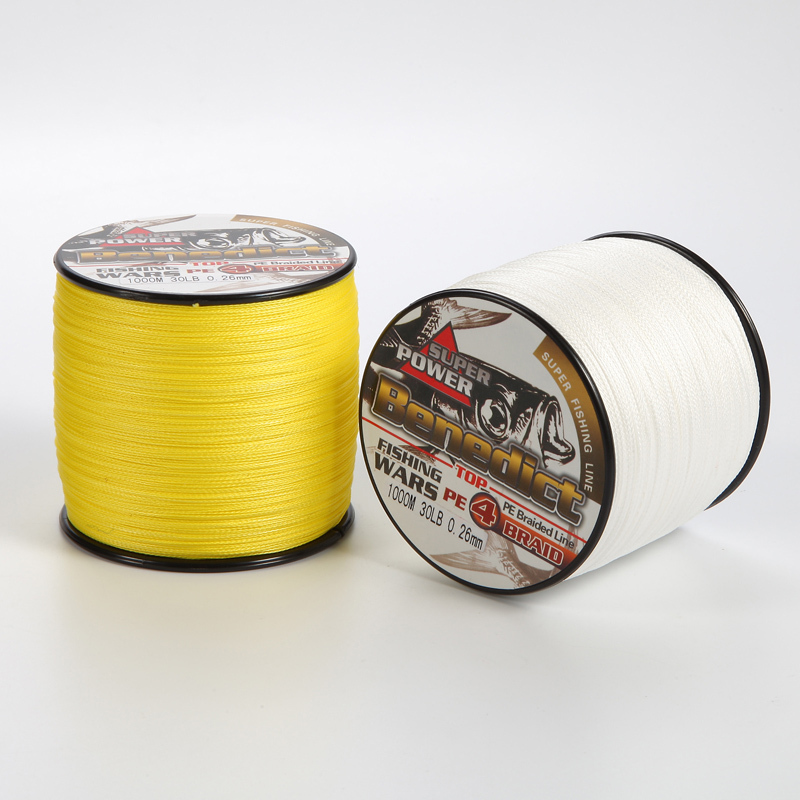 Brands new 1000m fishing cord spectra 6lb 40lb supper for Fishing line brands