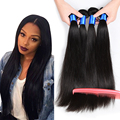 Brazilian Virgin Hair Straight 4 Bundles 7A Virgin Brazilian Hair Weave Bundles 6-28inch 100% Human Hair Brazilian Straight Hair
