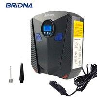 BRIDNA Air Compressor Tire Inflator Pump Portable Car Electric 150 PSI DC 12V Digital Display With