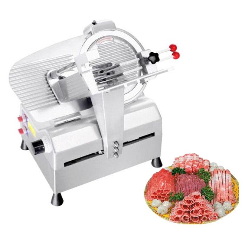 High efficient frozen meat thin slicer mutton beef roll slicing machine