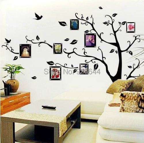 Family Tree Wall Decal Remove Wall Stick Photo Tree Wall Stickers - How to remove wall decals