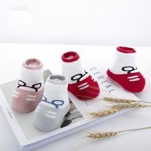 3pairs/lot Warm Winter Newborn Baby Socks 100%Cotton Thickened Baby Socks No-slip Infant Cotton Socks Infant Soft Baby Shoe Sock