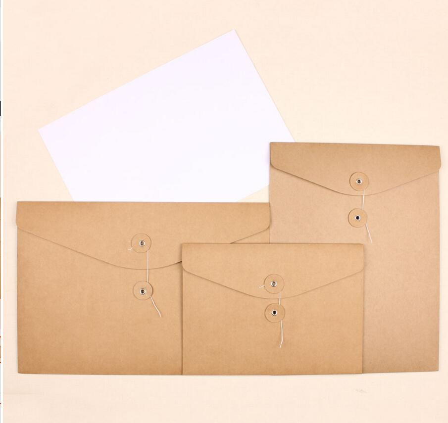 A4/A5 Kraft Paper Envelope For Invication Card Thick Paper