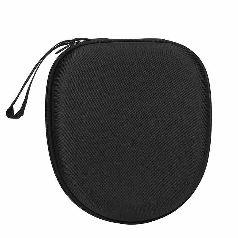 Mini Zipper Hard Headphone Case PU Leather Earphone Storage Bag Protective Usb Cable Organizer Headset Bag