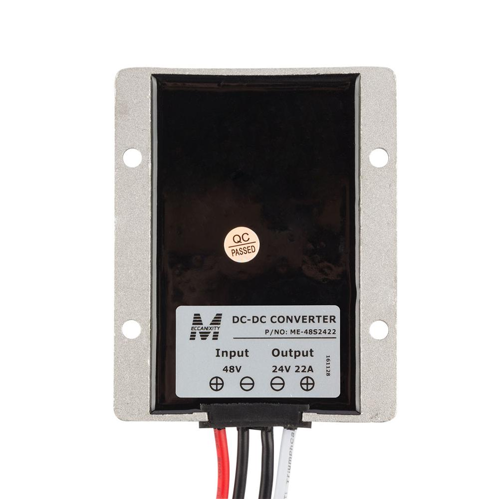 Waterproof Regulator Module Step Down DC 48V to DC 24V 22A 528W for Wind Power System Voltage Converter Transformer цена и фото