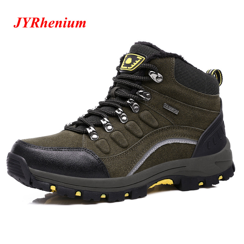 2019 New Outdoor Men Hiking Shoes Breathable High Top Sport Climbing Shoes Men Sneakers Ankle Boots Hunting Plus Size Women Shoe