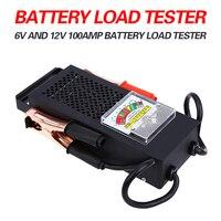 6V 12V Battery Load Display Testing System Tester Alternator Tool Mechanics 6 12 Volt Car Truck
