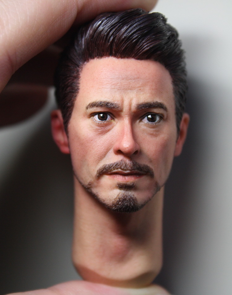 1/6 scale figure doll head shape for 12 action figure doll accessories tony Iron Man male Head carved not include body,clothes 1 6 scale figure doll head shape for 12 action figure doll accessories iron man 2 whiplash mickey rourke male head carved
