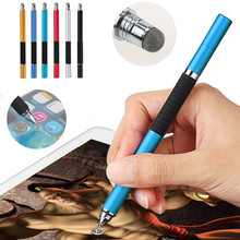 Multi-Functional 2 in 1 Stylus Touch Pen for Smartphone Fine Point Round Thin Tip Capacitive Screen Drawing