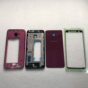 Image 2 - For Samsung Galaxy J4+ 2018 J4 plus J415 J415F SM J415F Full Housing LCD panel Cover Middle Frame  Battery door Case Replacement